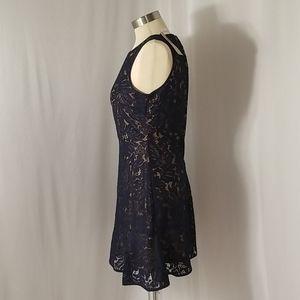 Banana Republic Dresses - Banana Republic Blue Lace Dress..Sz 00P